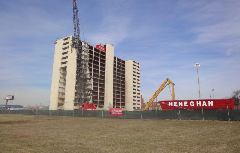 cabrini green, chicago - being demolished