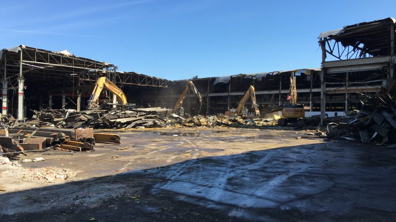 castle metals project - total demolition