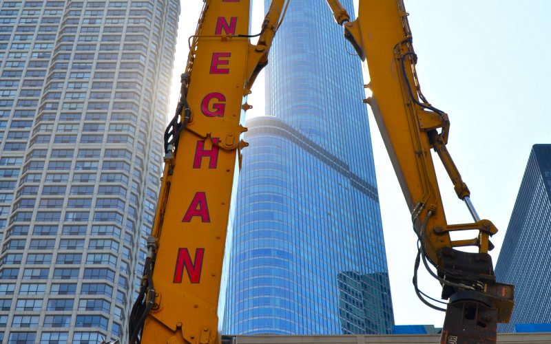 Heneghan Wrecking crane
