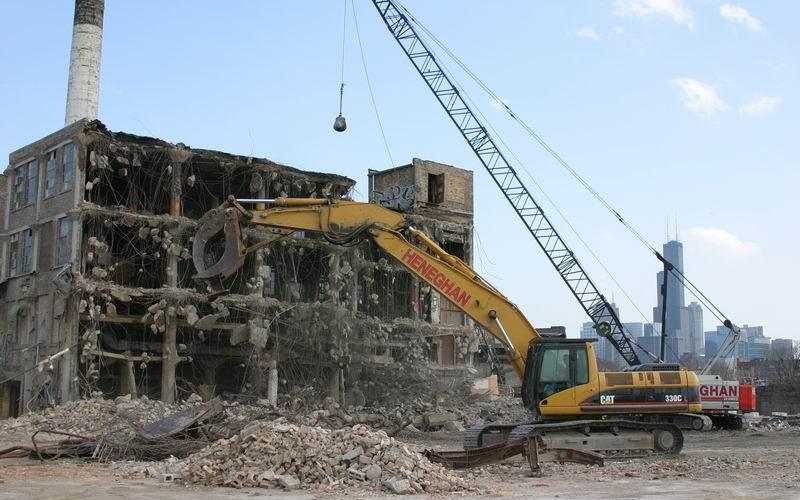 industrial demolition pic