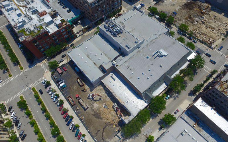 HARPO Studios, Chicago, demolition commercial project